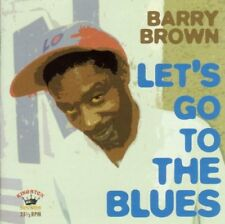 Barry Brown - Lets Go To The Blues [CD]