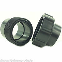 """1.5"""" (43mm) Solvent Weld Demountable Union Pond Pipe Fitting Pump/UV Connection"""