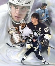 Sidney Crosby:giclee print on canvas poster painting no autograph  N-790