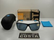 COSTA DEL MAR RINCON POLARIZED RIN179 OGP SUNGLASSES CRYSTAL FADE/GRAY 580P