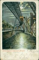 Ansichtskarte Schwebebahn Elberfeld Barmen 1901  (Nr.881)