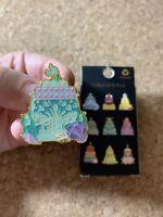 Ariel Disney Loungefly Princess Cake Pin- Wedding Cake- Little Mermaid