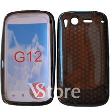 Cover Custodia Per HTC Desire S Nero Gel Silcone TPU Diamond