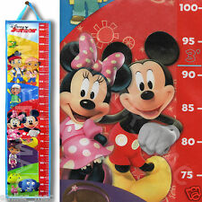 Disney Junior Height Chart Mickey Minnie Mouse Pirates Children Kids Growth