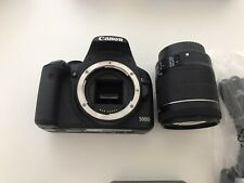 Canon EOS 500D 15.1MP Digital SLR Camera - Black with EF-S 18-55mm IS Lens