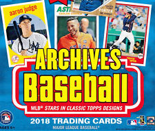 2018 Topps Archives Base Card YOU PICK 1-300 Complete your team set! inc RC etc