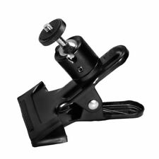 Photo Studio Flash Light Metal Mini Tripod Clamp With Ball Head For Camera