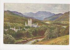 Balmoral Castle Sutton Palmer Vintage Tuck Postcard 562a