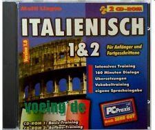 Multi Lingua ITALIENISCH 1 & 2 - PC Sprachkurs Sprachlernkurs Italienischkurs