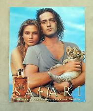 E632 - Advertising Pubblicità -1995- SAFARI BY RALPH LAUREN