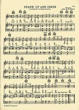 "VTG UNIVERSITY OF NORTH DAKOTA song- ""STAND UP & CHEER"" c38 - GREAT GRAD GIFT"