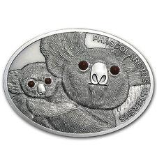 Fiji 2013 Silver $10 Fascinating Wildlife Coin - Koala - SKU #79719