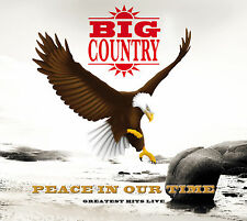 BIG COUNTRY Peace - In Our Time-Greatest Hits Live - Digipak-CD - 700010