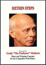 Grady Mathew's Sixteen Steps - POOL DVD - Advanced Competitive POOL knowledge!