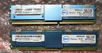 Original Dell 16Gb (2x8Gb) Memory Ram Poweredge 1950 2950 Precision M778D