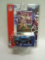 NFL Carolina Panthers Chris Weinke Fleer White Rose 2001 PT Cruiser w/ Card