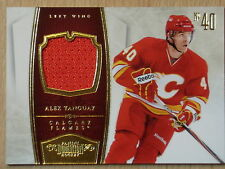 2011 PANINI DOMINION ALEX TANGUAY GAME USED JERSEY #62/99