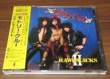 Japan PROMO issue CD! Motley Crue RAW TRACKS II - 1990 original 5 track CD obi