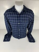 Polo Jeans Co. Ralph Lauren Mens Shirt Large Long Sleeve Button Up Flannel Plaid
