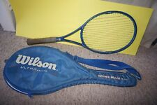 Wilson Tapered Beam Ultra Graphite PWS Series 95 & Cover Tennis Racket 4 3/8 L3
