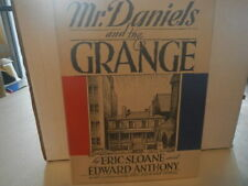 Eric Sloane / Mr. Daniels and the Grange Signed 1st Edition 1968