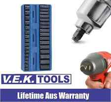 """GENIUS TOOLS H/DTY 32PC 3/8"""" IMPACT SOCKET SET-SUITS 18V CORDLESS WRENCHES-SP KC"""