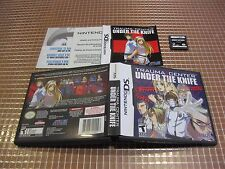 NDS TRAUMA CENTER UNDER THE KNIFE USA NTSC COMPLETO NINTENDO DS 3DS