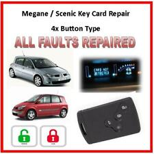 Renault 4 Button Key Card Repair Service, Trusted Repairs - 30 Years Experience