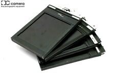 Lot of (4) 4x5 Sheet Film Holders, Riteway Fidelity Deluxe Lisco Regal II #29087