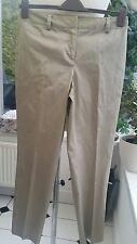 "Dknyc Damas Beige-Brillante Pantalones-Talla 10-cintura 30"", 29""LEG, RN:68596 VGG"