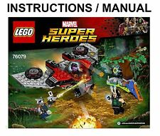 LEGO Super Heroes Guardians of The Galaxy Ravager Attack 76079 INSTRUCTIONS ONLY