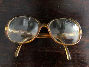 Vintage 90s 80s Christian Dior Women's Frame Eye Glasses Used (see Description)