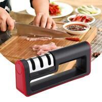 3 En 1 Aiguiseur affûteur de couteaux usage intensif couteaux cuisine CéRamique