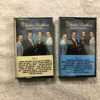 The Statler Brothers Gospel Favorites Tape 1 & 2 CASSETTE TAPES-Tested/Work