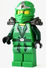 LEGO NEW LLOYD ZX NINJAGO GREEN NINJA MINIFIG MINIFIGURE WITH AMOR