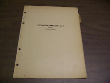 12050 John Deere Parts Catalog Pc-135 Distributor Fertilizer 7 dated 12 50