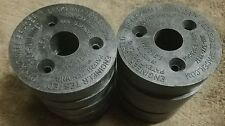 """Lot of 10 Deck 2 Wall Spacer D2W58 2-1/2"""" Dia 5/8"""" thick"""