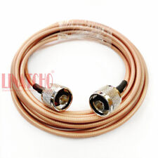 3 meters RG303 low loss silver plated n male to n male antenna jumper cable