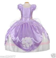 New girl princess QUALITY dress costume size 2 4 6 8 Inspired on Sofia Pretend