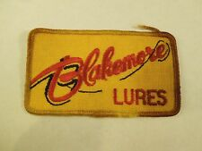 Vintage Blakemore Lures Tackle Bait Fishing Patch