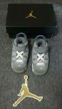 Jordan 6 Rings BT 323420 014 6C Matte Silver/White Cool Grey With Box/Sticker