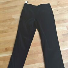 NWT Brooks Brothers Pants 14  Black Velvet  Womens Trousers  Scuf
