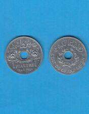 ° état du Grand Liban  une Piastre  1940 en Zinc Superbe qualité