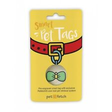 Smart Pet Id Tag Link To Online Profile Receive Location Pet Fetch Dog/Cat Tag