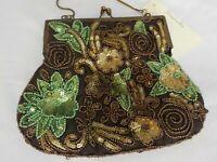Bougainvillea Boutique ~  Beaded  and Sequin Purse ~ NWT! ~ Handbag