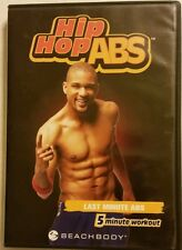 HIP HOP ABS: LAST MINUTE ABS w/SHAUN T <BEACHBODY> DVD  SHIPS FAST Mon thru Sat!