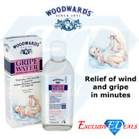 Woodward's Gripe Water Alcohol & Sugar Free Relief of Wind & Gripe 150ml