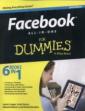 Facebook All-in-One For Dummies (For Dummies Series), Crager, Jamie, Stay, Jesse