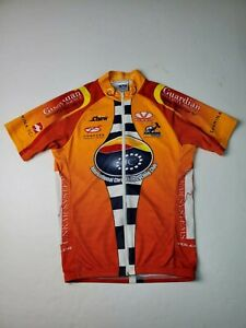 Voler Cycling Jersey Livermore Cyclery Full Zip Long Sleeve Men's Size Small