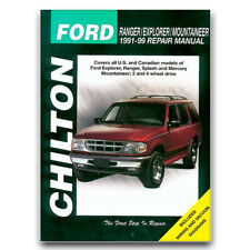Chilton Repair Manual for 1991-1999 Ford Ranger - Shop Service Garage Book jb